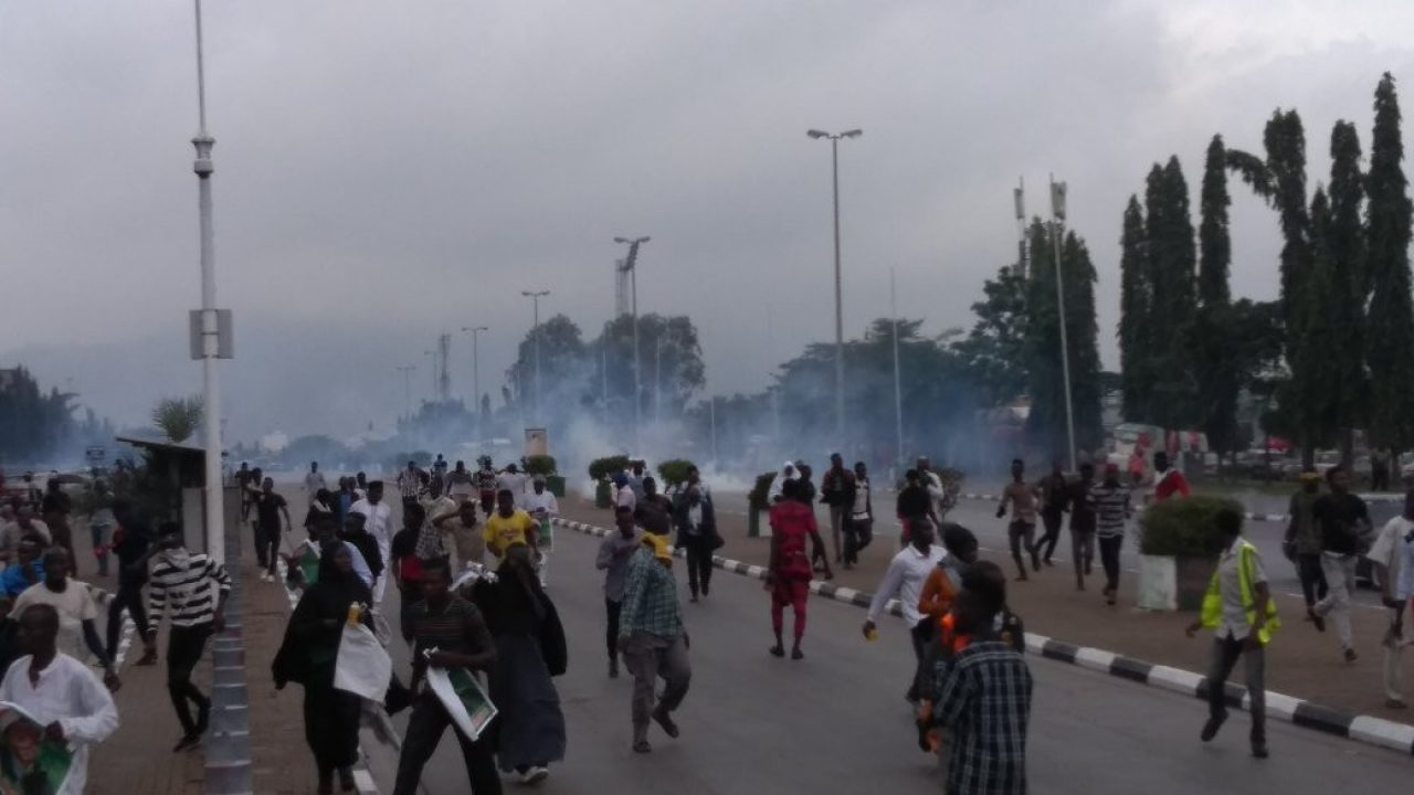Tension in Abuja as Shiites clash with police again