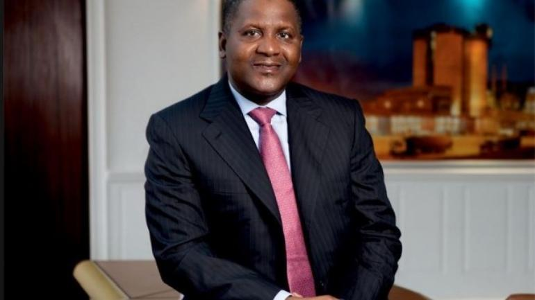 Aliko Dangote's fortune increases by $4.3bn, only African on top 100 world richest