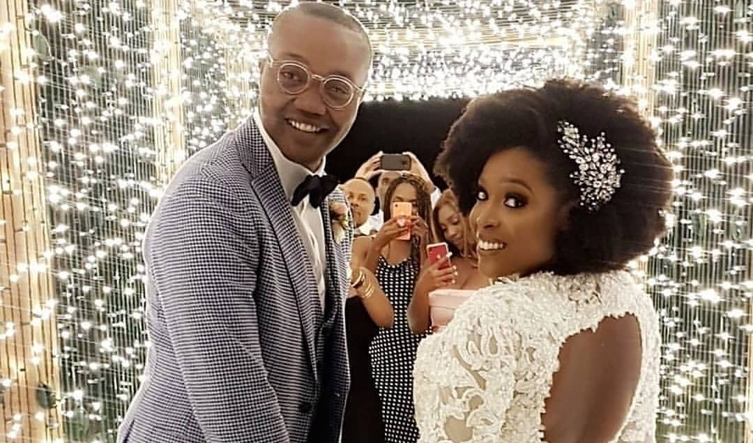 Mo Abudu's daughter, Temidayo holds white wedding in US