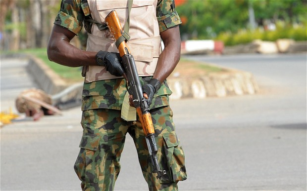 I was given a gun without salary – Soldier arrested for car snatching
