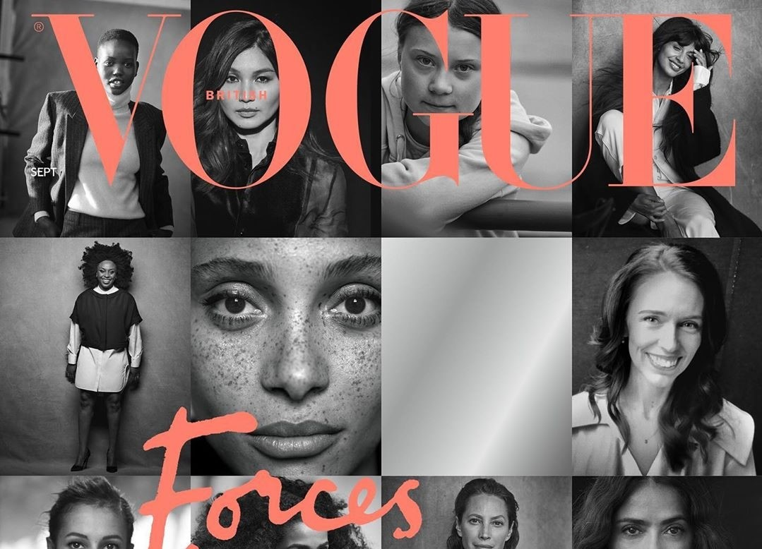 British Vogue features 15 women who are force agents