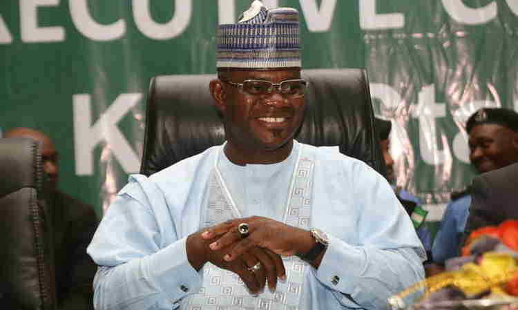 Yahaya Bello wins re-election as Kogi State governor