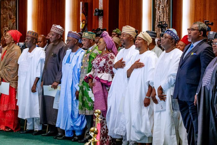 Buhari's ministers, portfolios, a parade of recycled foot soldiers — PDP