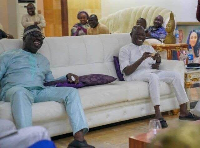 All seems well as Obaseki pays surprise visit to Oshiomhole
