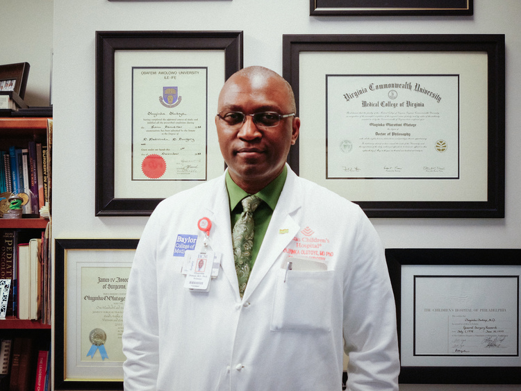 Nigerian, Oluyinka Olutoye appointed surgeon-in-chief in top US hospital