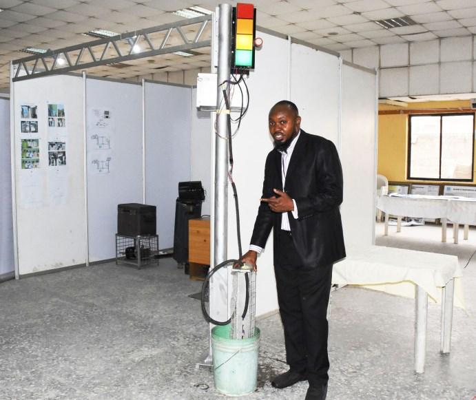 Unilag postgraduate students invent flood level caution device