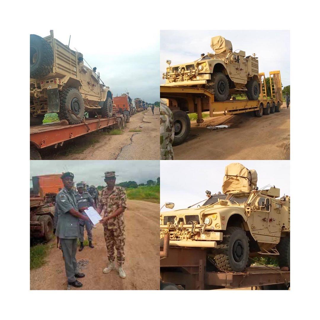 Soldiers intercept 'strange' military equipment in Adamawa
