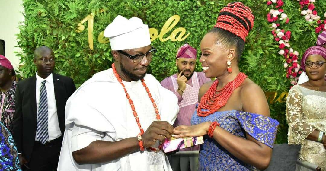 Akeredolu plays host to dignitaries at daughter's traditional marriage