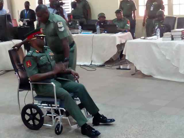 Fight for Nigerian army chief's position cause of billions stolen by soldiers – General