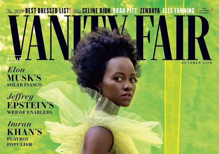 Lupita Nyong'o covers Vanity Fair, talks upcoming projects