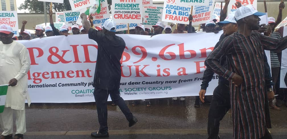 P&ID $9bn judgment: Nigerians storm UK high commission in protest