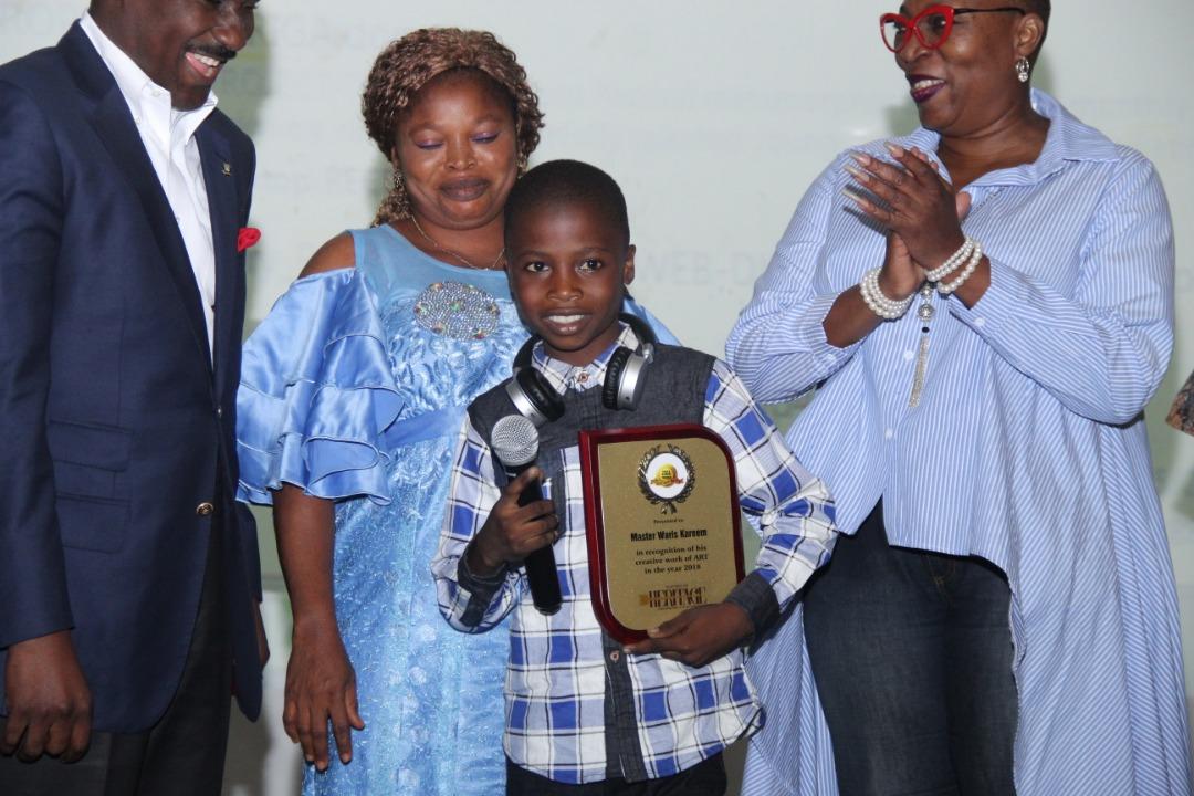 Nigerian hyper realism artist, Kareem Waris wins international award
