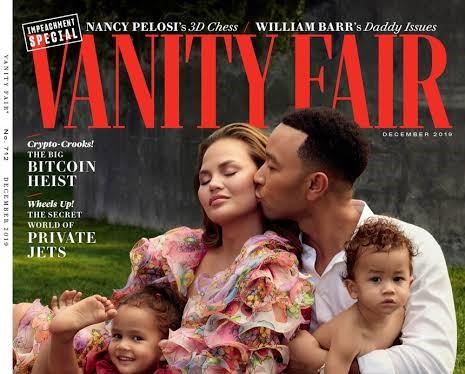 John Legend, Chrissy Teigen grace the cover of Vanity Fair