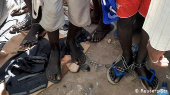 Over 300 children found chained at religious centre in Daura