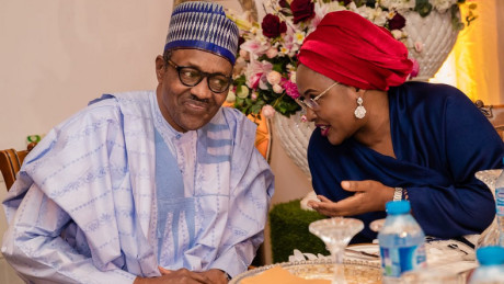 Peace offering? Buhari appoints new aides for wife, Aisha
