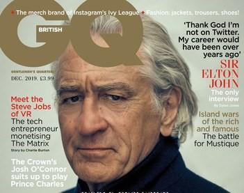 Robert De Niro bashes Trump as he covers British GQ magazine