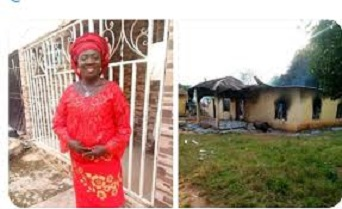 Thugs burn Kogi PDP women leader alive