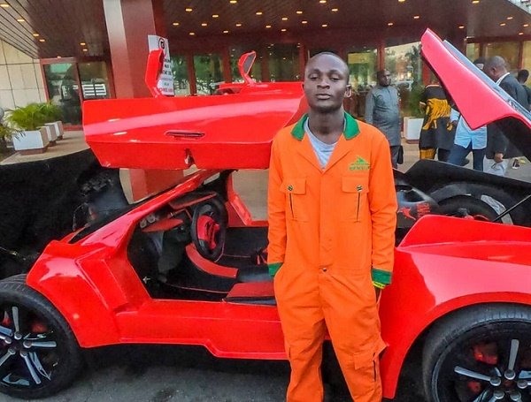 25-year-old manufactures Nigeria's first 'carbon fibre' sports car