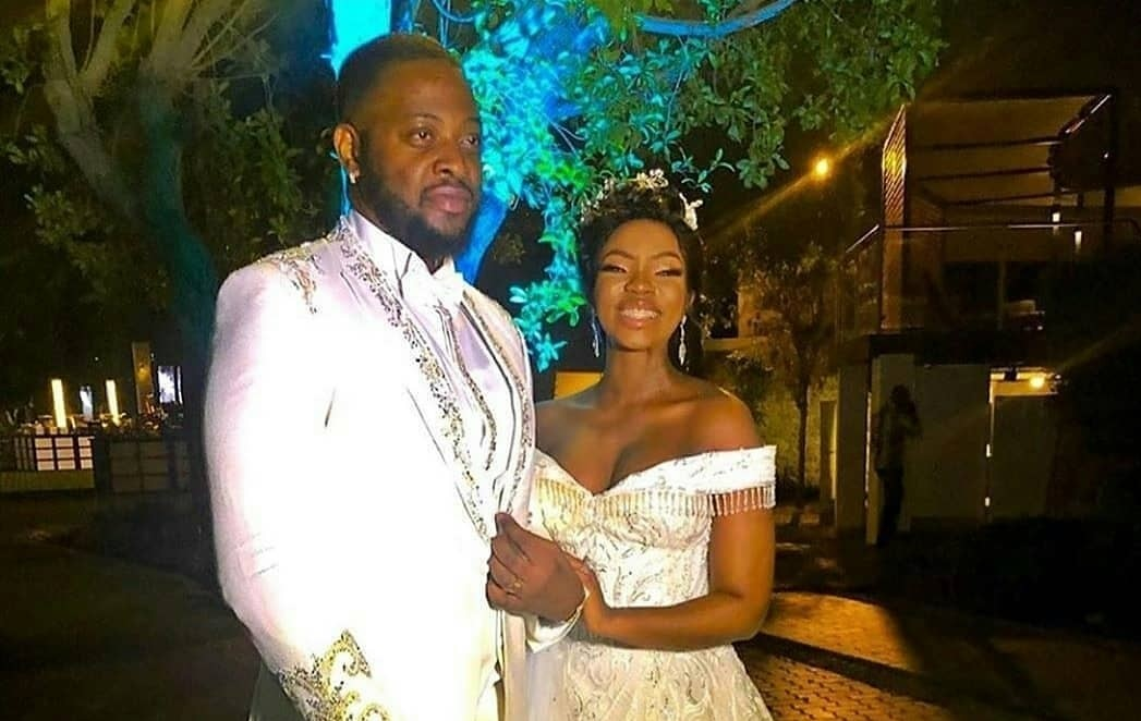 All the photos you are dying to see from BBNaija's Teddy, BamBam nuptials in Dubai