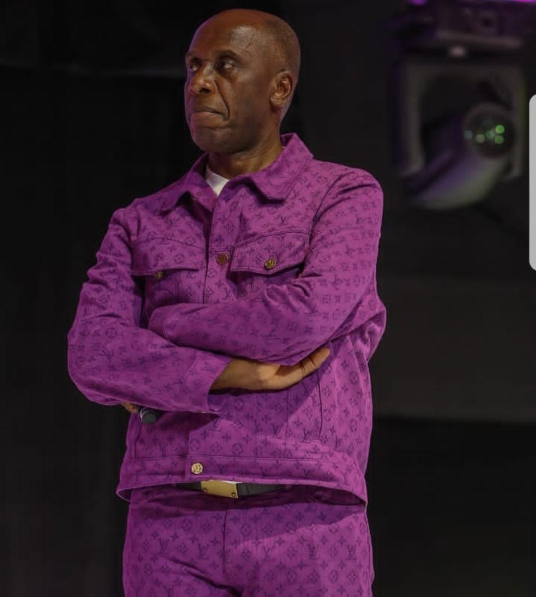 Rotimi Amaechi wears N1m Louis Vuitton two piece to Ovation Carol