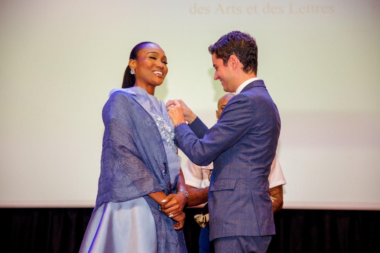 Bella Disu bags French national honour