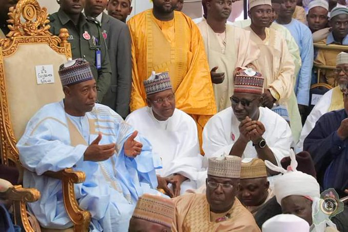 Favour seekers storm Maiduguri in over 40 private jets for wedding of Mele Kyari's children