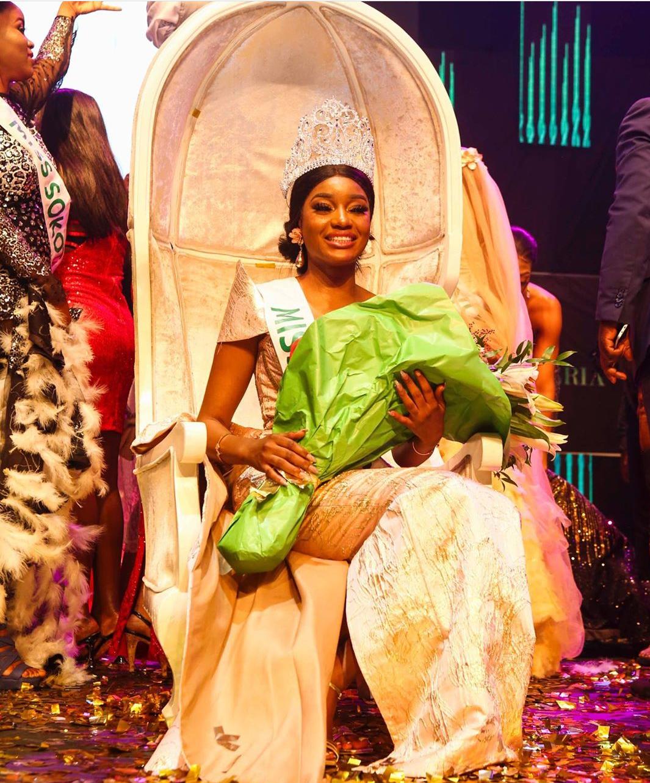 Miss Taraba, Beauty Etsanyi Tukura becomes 43rd Miss Nigeria