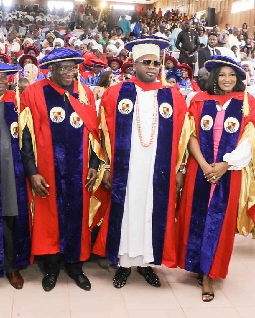 Igbinedion University honours ex-president Jonathan, Oba Elegushi etc