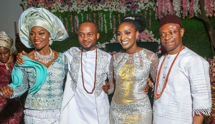 Ex Bank PHB MD, Francis Atuche throws lavish ceremony for son's traditional marriage