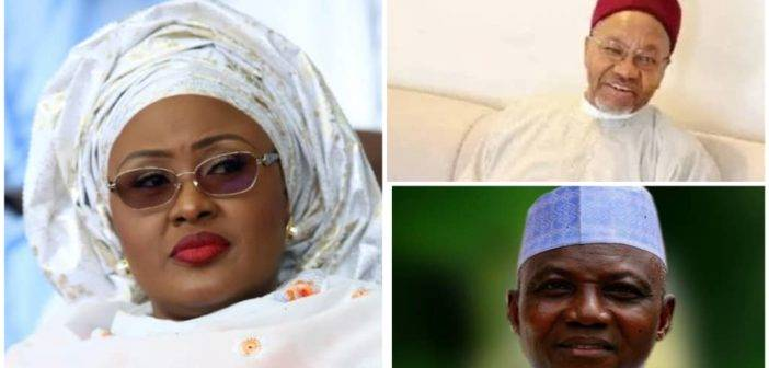 Real reason Aisha Buhari moved against Shehu, Daura
