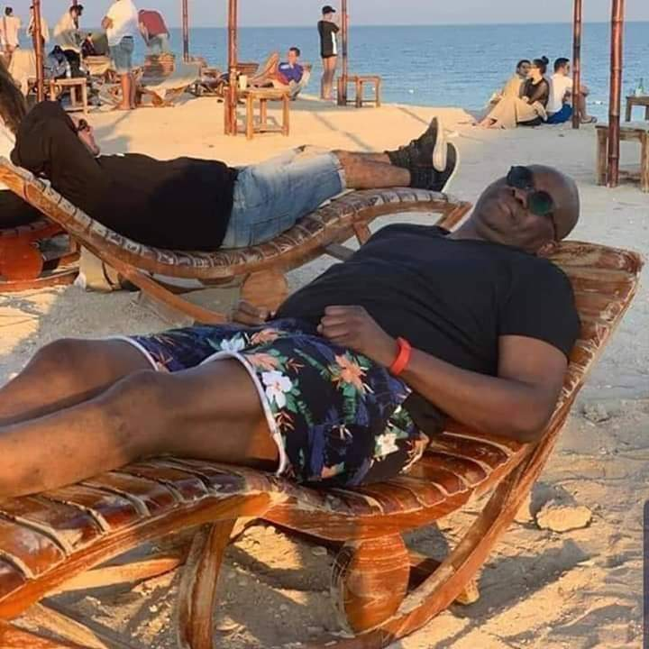 Watch Fayose dancing salsa on cruise ship, lounging at beach while on medical trip