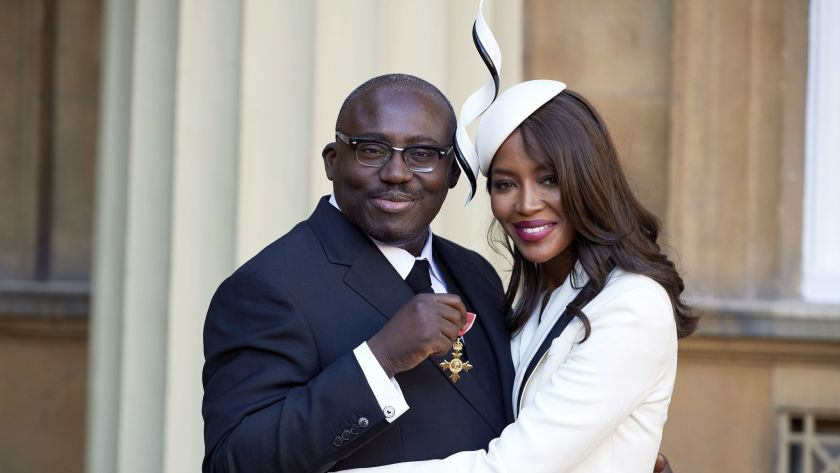 Naomi Campbell falls out with Vogue editor, Edward Enninful