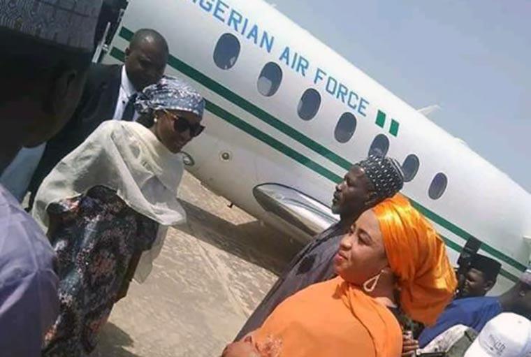 President's children have right to use presidential jet – Garba