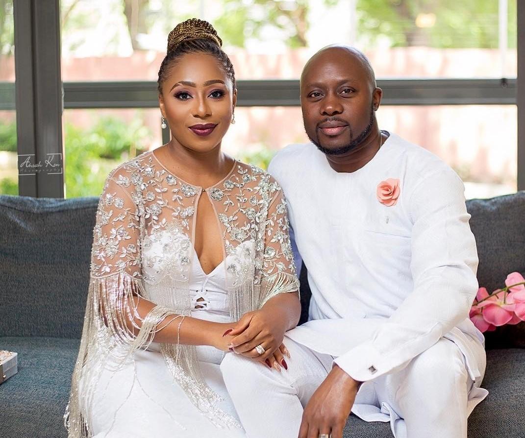 """Shame to bad people"" – Dakore Akande debunks divorce rumours"