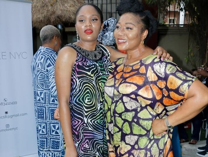 FADAN president, Funmi Ajila-Ladipo's daughter tows her path, unveils clothing line
