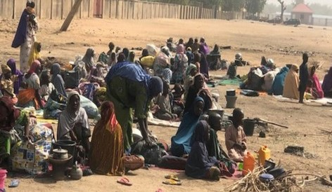 Hundreds now sleep on the streets for fear of Boko Haram
