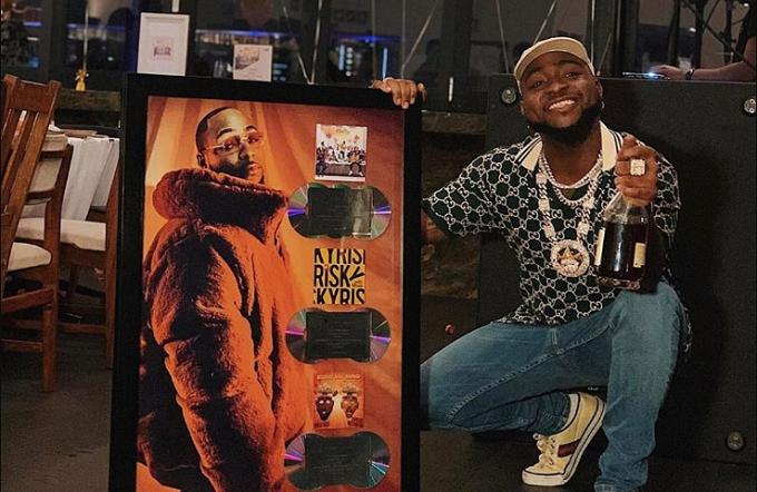 Davido's 'A Good Time' album goes platinum
