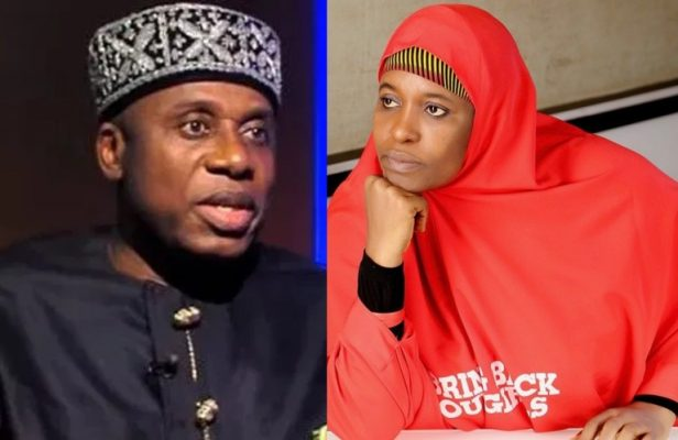 Aisha Yesufu calls Amaechi a liar for denying his escape from kidnappers at Kaduna train station