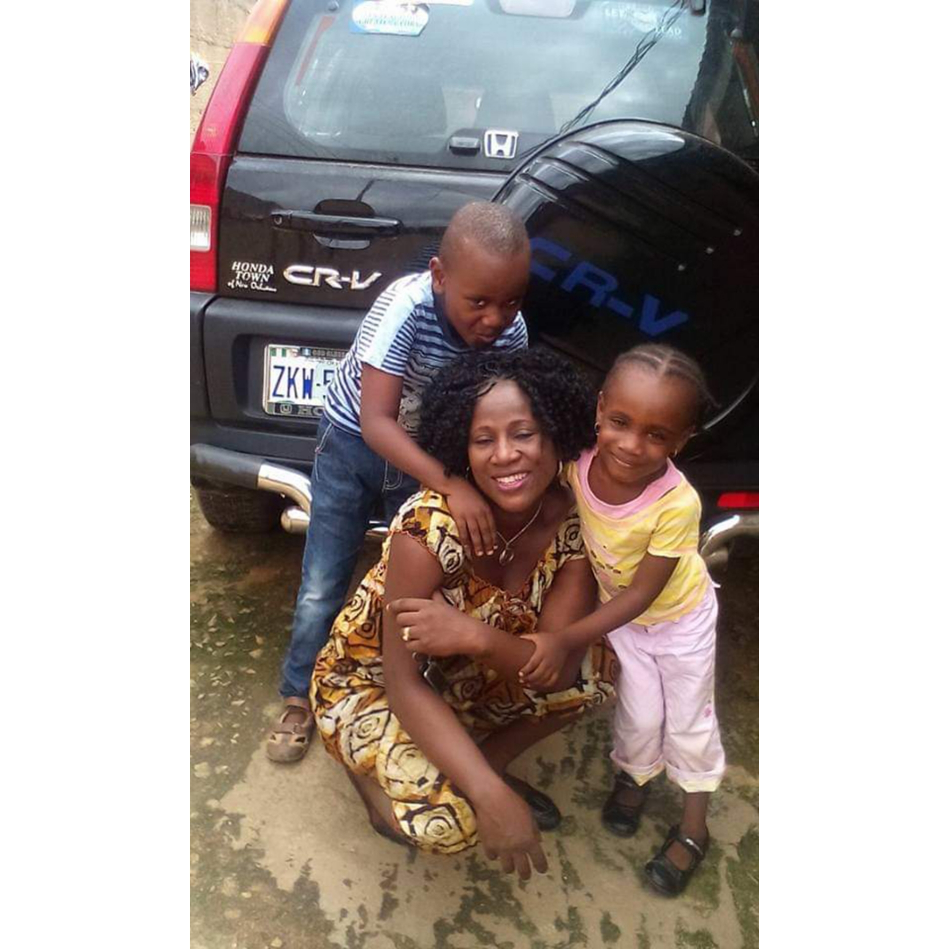 Police deny involvement in the killing of Mrs Ataga after daughter recognised one of the killers