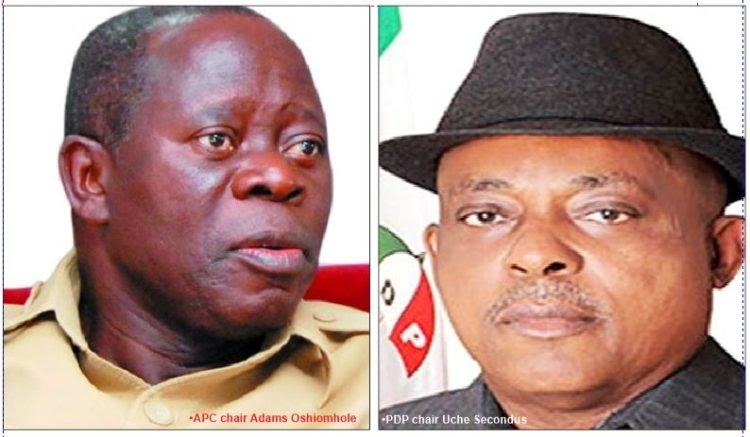 Bayelsa: You're just ranting, PDP mocks Oshiomhole