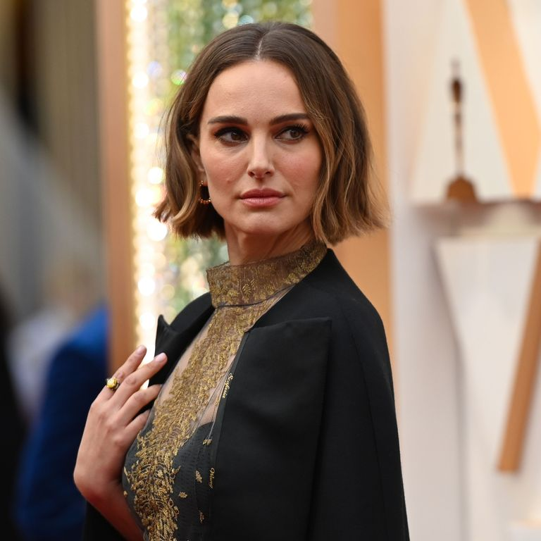 Oscar 2020: Actress Natalie Portman protests non inclusion of female directors with a dress