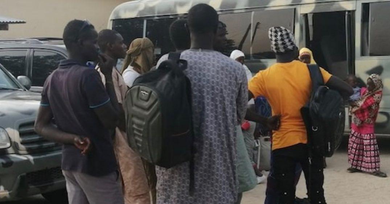 'Repentant' Boko Haram terrorists arrive Maiduguri from Niger