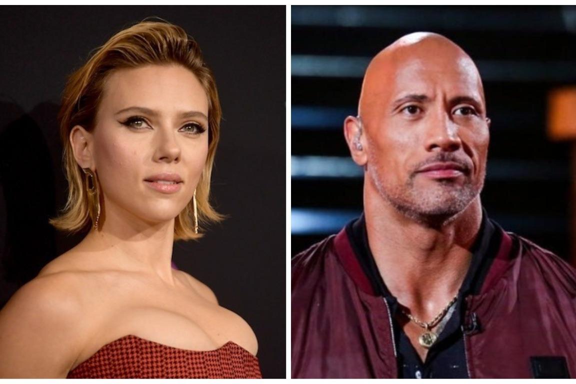 Dwayne Johnson, Scarlett Johansson top Forbes list of highest-paid actors, actresses