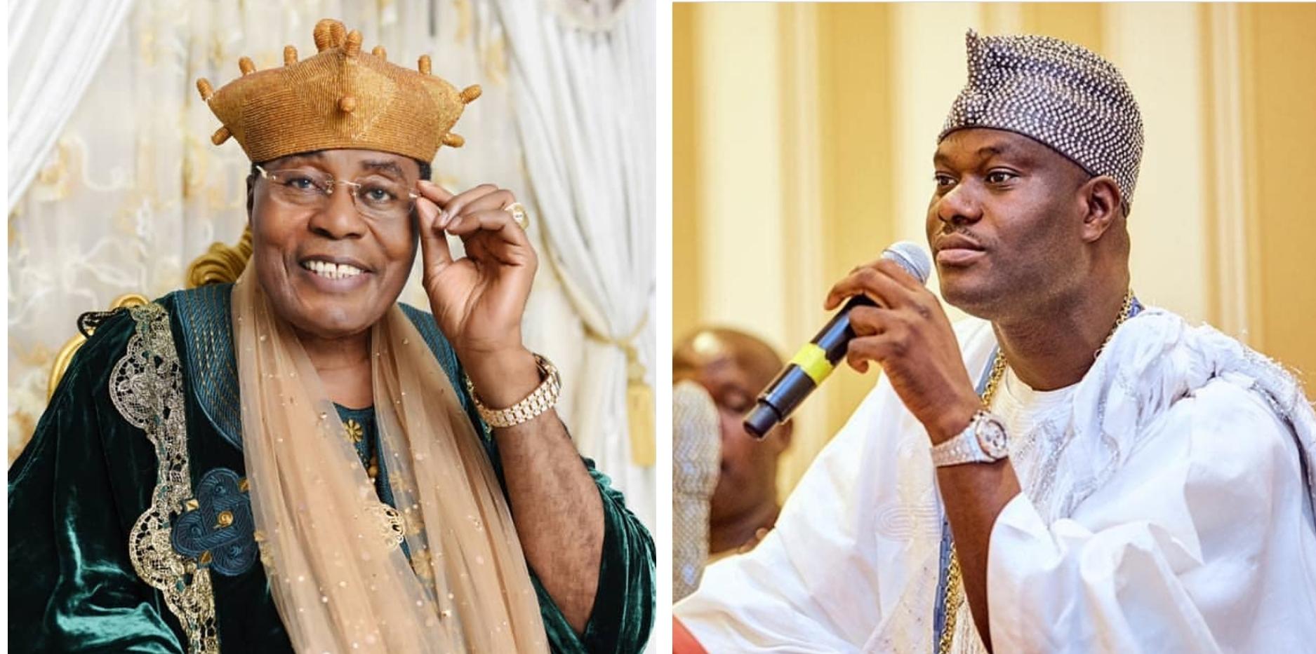 Oba Akinruntan drags Ooni again, writes him to stop denigrating Yoruba history