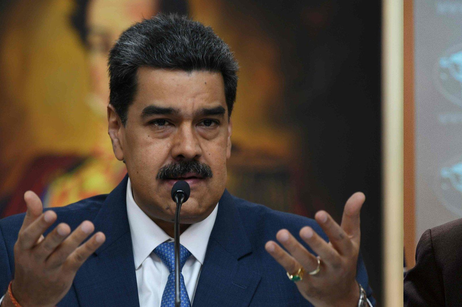 US places $15m bounty on president of Venezuela