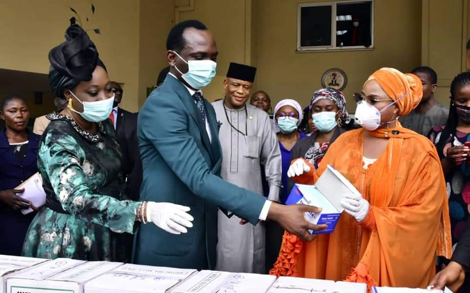 Dunamis church donates medical, safety items to FCTA, clinic for fight against COVID-19 pandemic