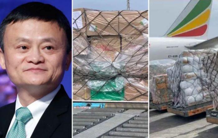 Coronavirus test kits from billionaire, Jack Ma arrive in Nigeria