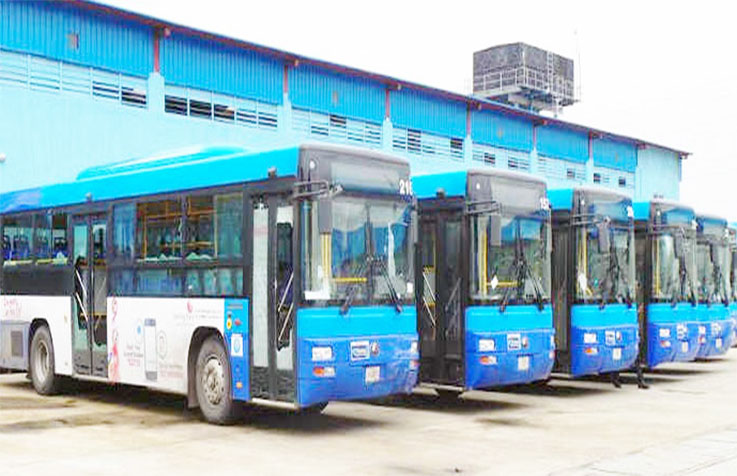 Lagos begins sanitization of BRT with hand sanitizers