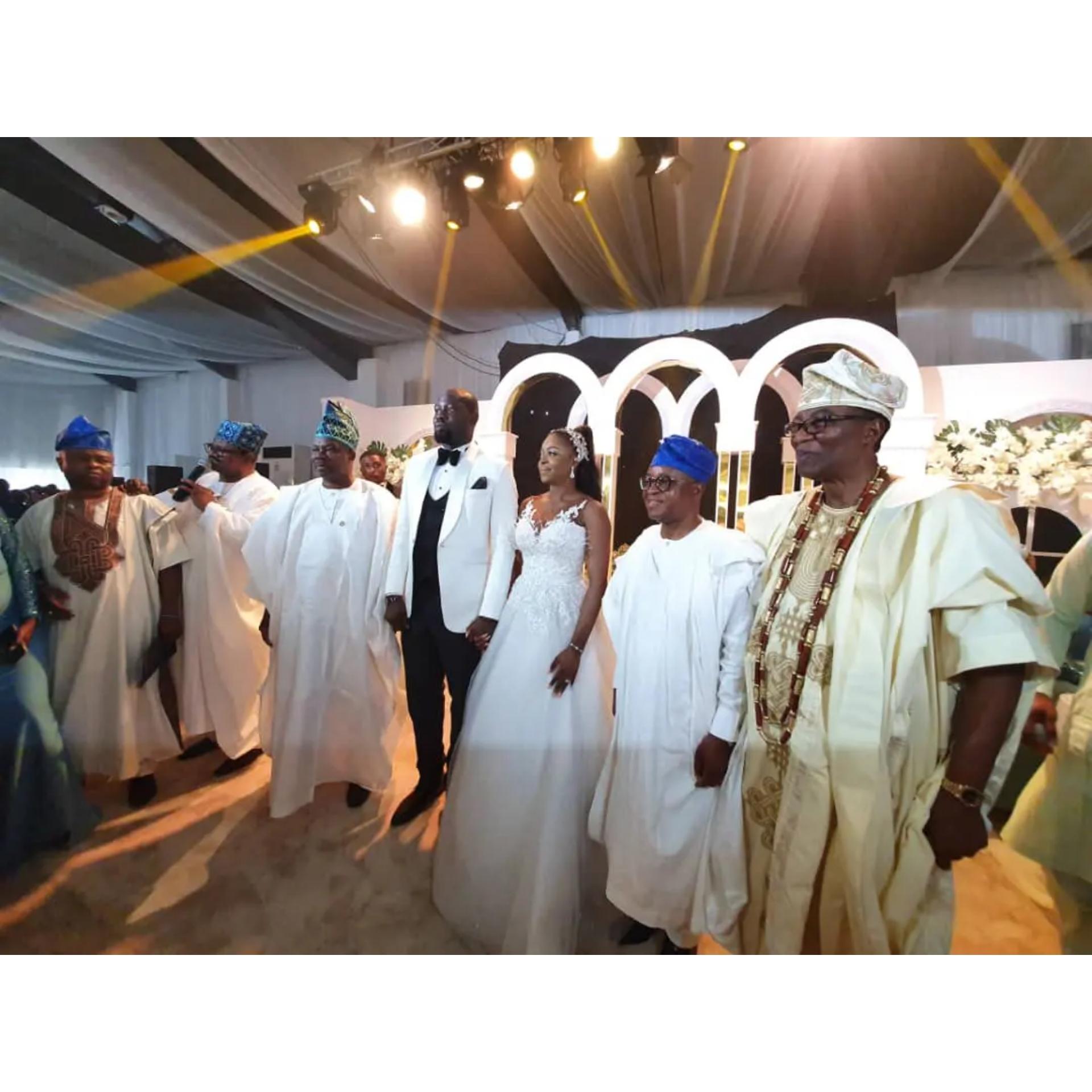 Otunba Gbenga Daniel's son, Olurotimi ties the knot