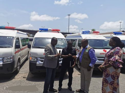 COVID-19: Dangote donates 4 ambulances to NCDC in Lagos